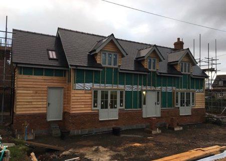 Mistletoe Cottage takes shape